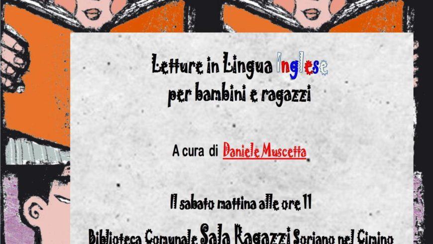 LETTURE IN INGLESE ALLA BIBLIOTECA COMUNALE (Soriano al Cimino)
