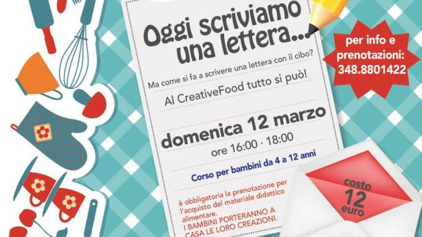 """LABORATORIO DI CUCINA AL """"CREATIVE FOOD FOR CHILDREN"""" (Viterbo)"""