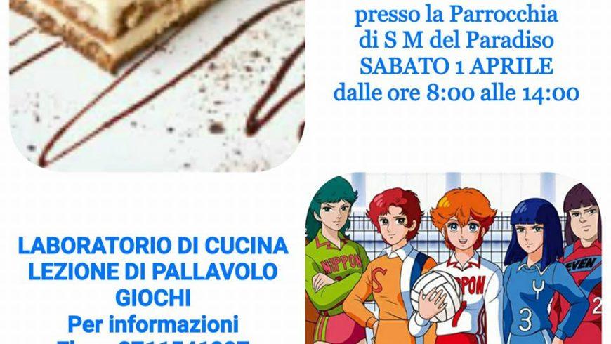 LABORATORIO DI CUCINA E LEZIONE PALLAVOLO(Viterbo)