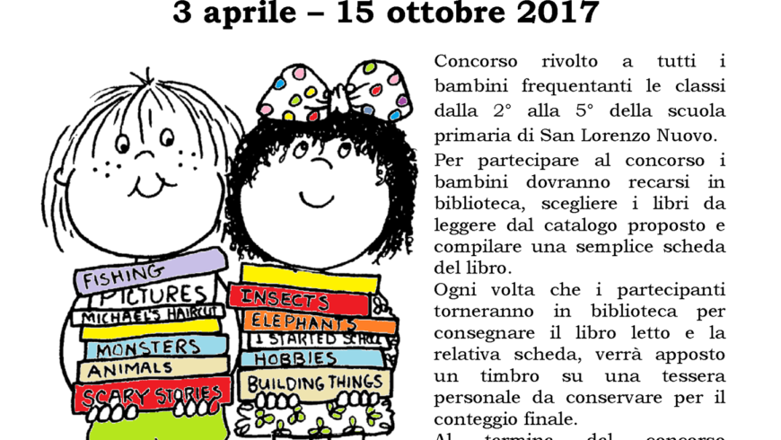 """A CACCIA DI LIBRI!! IN BIBLIOTECA (San Lorenzo Nuovo)"