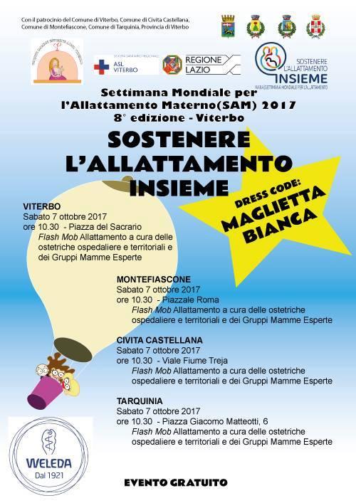 """Flash Mob per """"Sostenere l'allattamento insieme"""", nella Settimana mondiale Allattamento Materno"""
