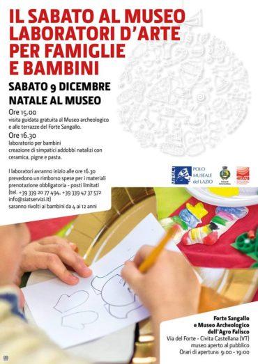 Laboratorio d'Arte per Bambini al Museo di Civita Castellana