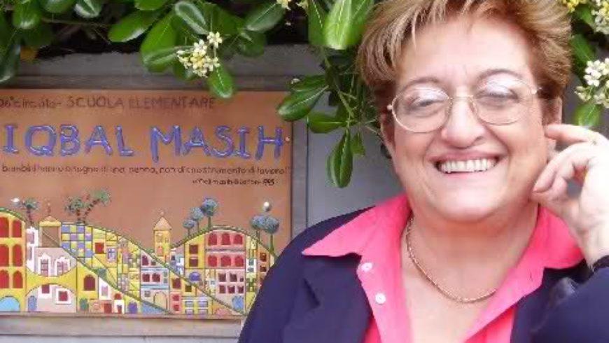 Il saluto a Simonetta Salacone, preside di frontiera
