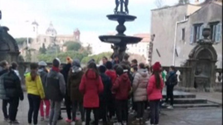 Gli studenti della Fantappiè alla scoperta di Viterbo con la Banda del racconto