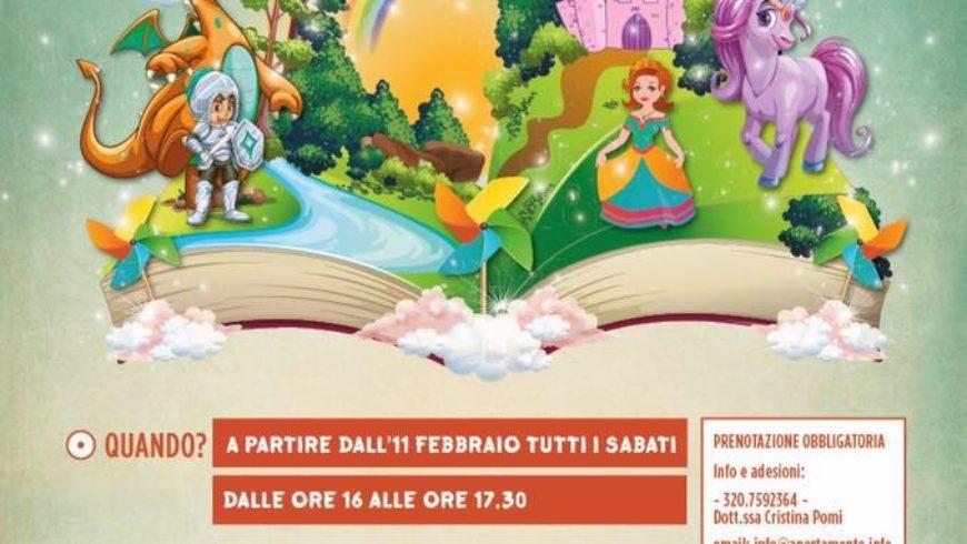 """UN LABORATORIO PER CRESCERE CON LE FIABE A """"MANI DI LUCE"""" (Tuscania)"""