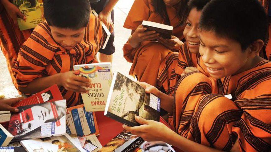 PAROLAMIA: barattare foto con libri per creare tante Biblioteche nel mondo