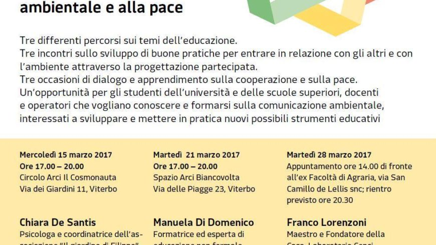 EDUCARE ALLA PACE E ALL'AMBIENTE(Viterbo)