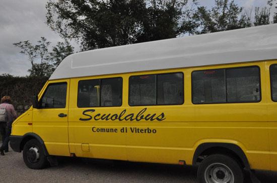 Trasporto scolastico a Viterbo: al via le iscrizioni per il 2017-2018