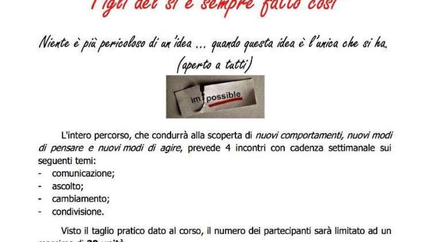 CORSO DI FORMAZIONE ESPERIENZALE SULLA GENITORIALITA' (Vitorchiano)