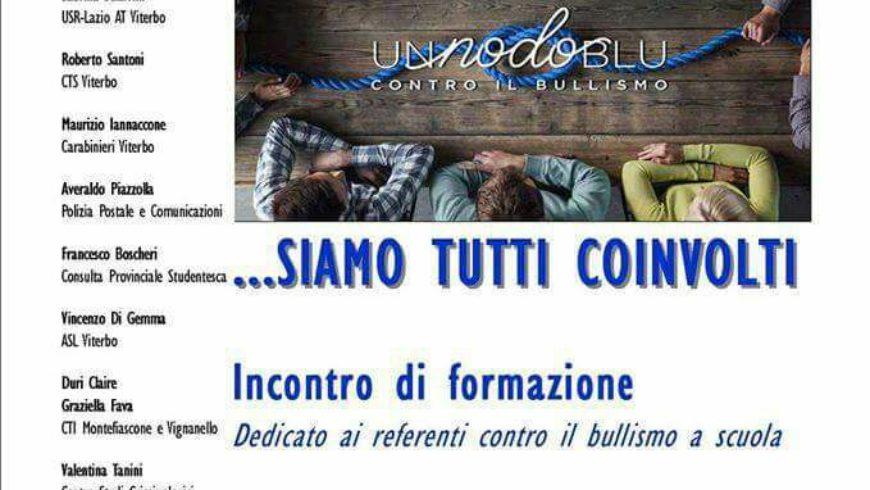 """""""SIAMO TUTTI COINVOLTI"""": INCONTRO-FORMAZIONE AL PAOLO SAVI (Viterbo)"""