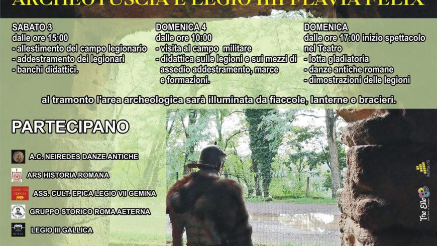 LA RICONQUISTA DI FERENTO A.D.2017: 3 E 4 GIUGNO RIEVOCAZIONE STORICA