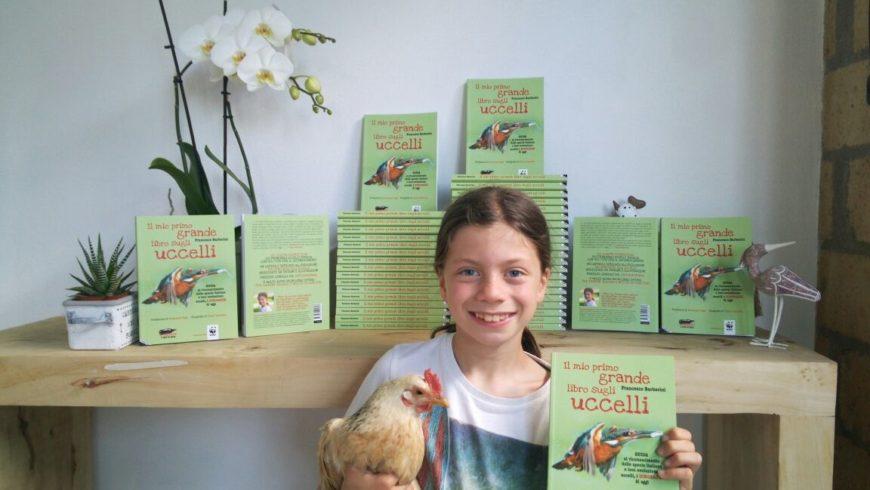 """""""Il mio primo grande libro sugli uccelli"""" del baby ornitologo Francesco Barberini"""
