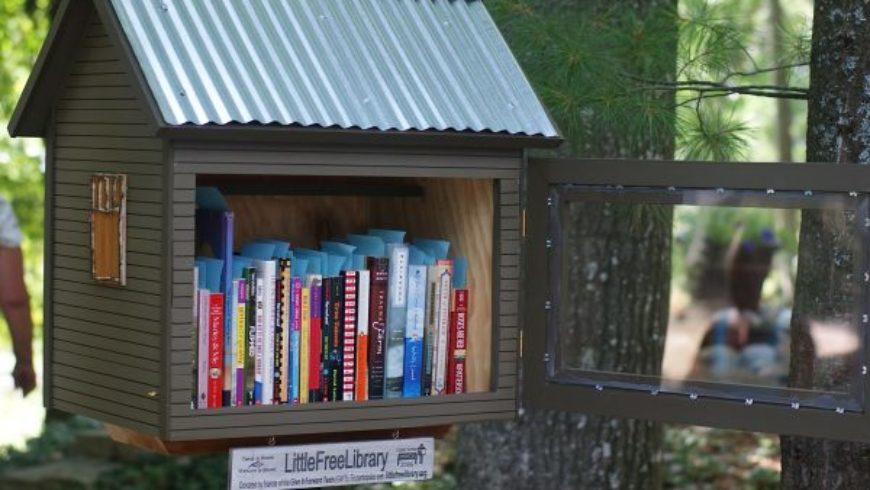"""""""Little Free Library"""" a Prato Giardino a Viterbo: inaugurazione il 14 maggio"""
