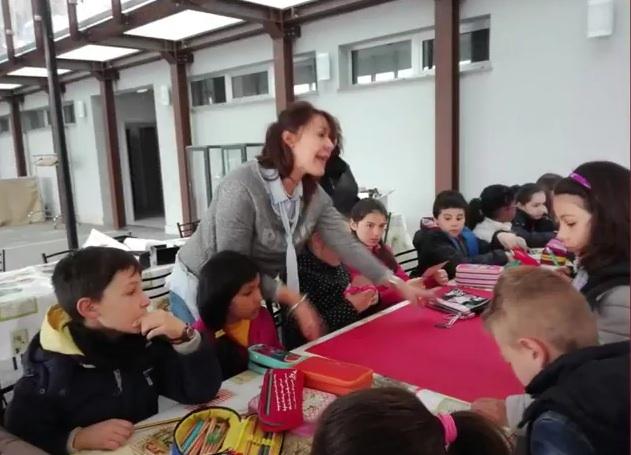 """I bambini della Fantappiè al laboratorio didattico di """"Piacere etrusco"""""""