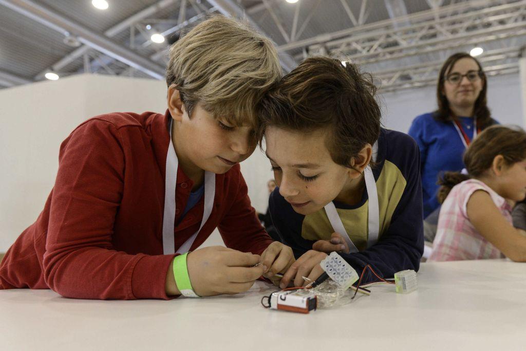 Con i bambini al Maker Faire per stimolare ingegno e creatività