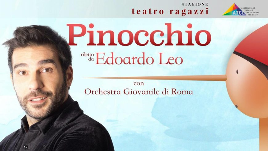 La favola in musica di Pinocchio letto da Edoardo Leo – Teatro dell'Unione
