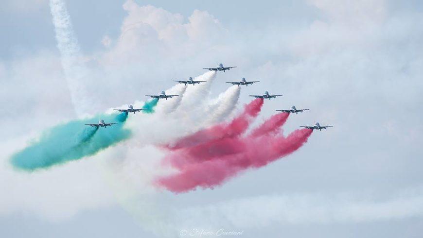 Air Show del lago di Bolsena: un tripudio con le Frecce tricolore