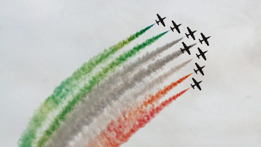 Frecce Tricolori a Montefiascone: tutto pronto per il grande evento
