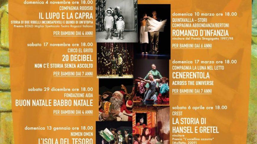 """La cultura fa spettacolo all'Unione con """"A Teatro in Famiglia"""" e """"Libri in scena"""""""