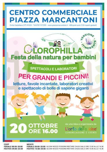 Clorophilla: a Civita Castellana si fa festa con gli spettacoli e laboratori per bambini