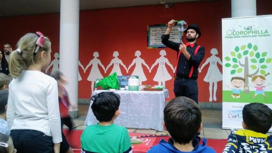 Clorophilla, anche in autunno la Festa in natura per bambini ricca di incanto