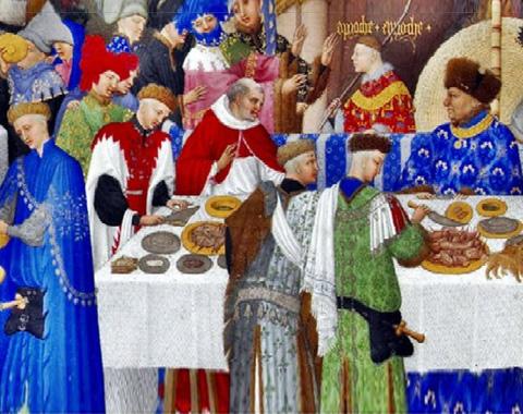 A tavola nel Medioevo