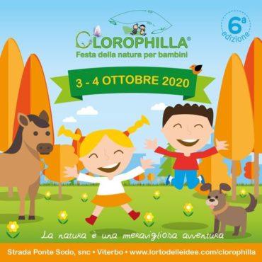 Il  3 e 4 ottobretorna Clorophilla presso Agriland, Parco Agricolo